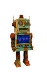 Vintage robot toy Stock Photo
