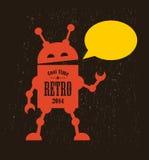 Vintage robot. Royalty Free Stock Photos