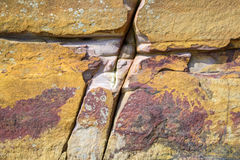 Vintage rock background. Details of a rustic rock grain for wallpaper , Taipei, Taiwan Stock Image