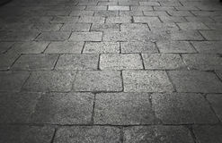Vintage rock floor on royal street Royalty Free Stock Photo