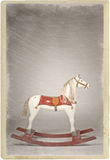 Vintage rocking horse Royalty Free Stock Image