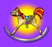 Vintage Rocking Horse royalty free stock photography