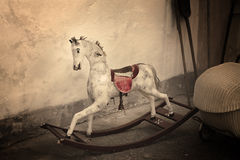 Vintage Rocking Horse Royalty Free Stock Photo