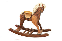 Vintage Rocking Horse Stock Photo