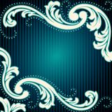 Vintage rococo background Royalty Free Stock Photography