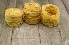 Vintage rolled noodles still life Stock Photography