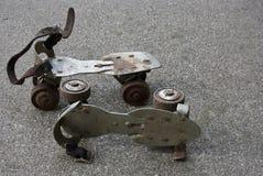 Vintage roller skates Royalty Free Stock Images