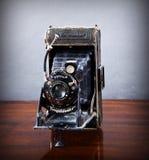 Vintage rollfilm camera Royalty Free Stock Photos