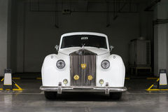 Vintage Rolls Royce car Stock Image