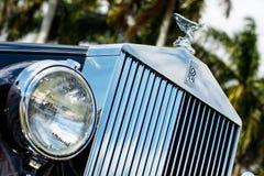 Vintage Rolls Royce Stock Photo