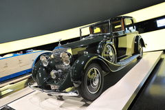 Vintage Rolls-Royce 20/25 model on display at BMW Museum Stock Photos