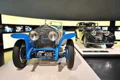 Vintage Rolls-Royce Phantom I and 20/25 on display at BMW Museum Stock Photography