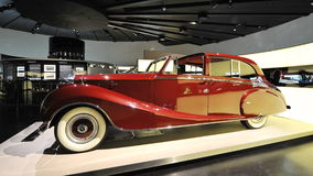Vintage Rolls-Royce Phantom IV on display at BMW Museum Stock Photos