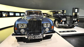 Vintage Rolls-Royce Phantom V on display at BMW Museum Stock Photo