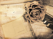 Vintage romantic background Stock Image