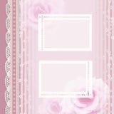 Vintage romantic background Stock Photo