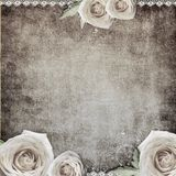 Vintage romantic background Royalty Free Stock Image