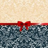 Vintage romantic background floral card Royalty Free Stock Photo