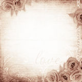 Vintage romantic background Stock Photography