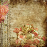 Vintage romantic background Royalty Free Stock Images