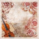Vintage romantic background Stock Photos