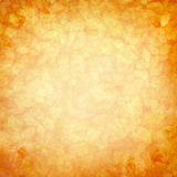 Vintage romantic orange-yellow background stock image
