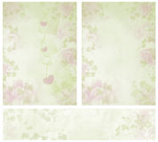 Vintage Romantic Textures Stock Photography
