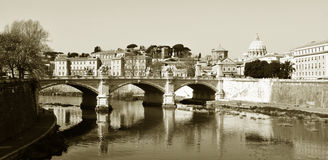 Vintage Rome Stock Photography