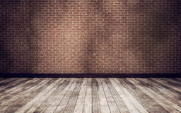 Vintage room background Stock Image