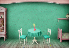 Vintage Room background Royalty Free Stock Images