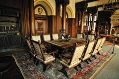 Vintage room inside Cochem castle Stock Photography