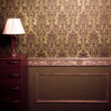Vintage room interior toned image Royalty Free Stock Photography