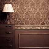 Vintage room interior toned image Royalty Free Stock Image