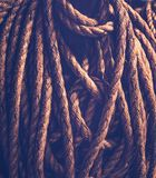 Vintage rope background Royalty Free Stock Photo