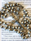 Vintage Rosary Stock Images