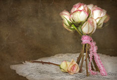 Vintage rose bouquet Royalty Free Stock Photo