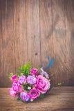 Vintage rose bouquet Stock Photos
