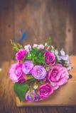 Vintage rose bouquet Stock Photography
