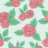 Vintage Rose Pattern Royalty Free Stock Image