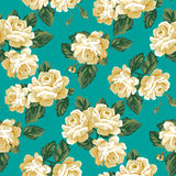 Vintage rose pattern. Royalty Free Stock Photo