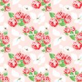 Vintage rose pattern. Stock Images