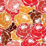 Vintage rose pattern Stock Photo