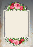 Vintage roses background royalty free illustration