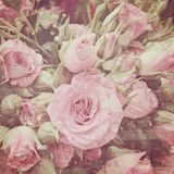 Vintage roses bouquet Stock Photography