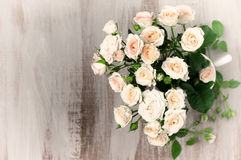 Vintage roses bouquet Royalty Free Stock Image