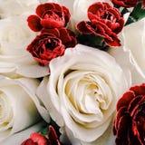 Vintage roses bouquet Stock Photo