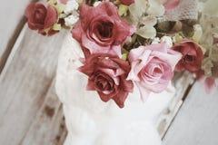 Vintage roses Stock Photo