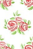 Vintage Roses Seamless Pattern Background Royalty Free Stock Image