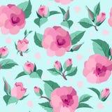 Vintage roses seamless pattern Stock Image