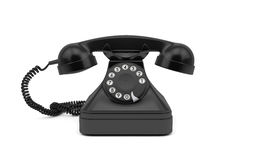 Vintage rotary dial phone  Royalty Free Stock Image